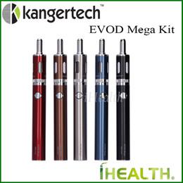 zerstäuberspulen kanger Rabatt 100% Original! Kanger EVOD Mega Starter Kit 2,5 ml Zerstäuber Kapazität mit 1900mAh Akku mit Kanger Dual Coils auf Lager