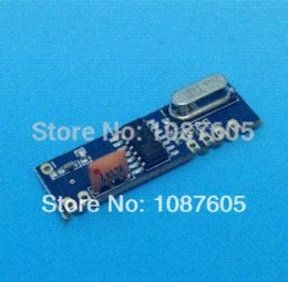 Wholesale Electronic Components Kits - 5sets lot 315MHz 433MHz 100m Wireless Module kit (ASK transmitter STX882+ ASK receiver SRX882)+ spring antennas Other Electronic Components