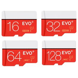 Wholesale 16gb Micro Sd Tf Card - EVO Plus 16GB 32GB 64GB 128GB Micro SD Card SDXC SDHC TF Memory Card Class 10 EVO+ UHS-I Card with Adapter Retail Package