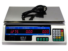 Wholesale Price Scales - Digital Weight Scale 60LB Price Computing Food Meat Scale Produce Indutrial