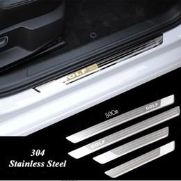 Deutschland Ultradünne Edelstahl-Verschleißplatte Türschwelle für Vw Golf 7 MK7 Golf 6 MK6 Willkommen Pedal Schwelle Autozubehör 2011-2015 Versorgung