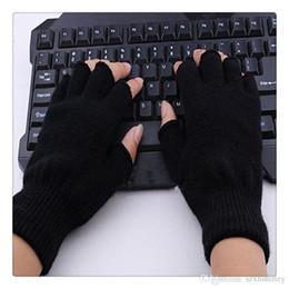 handschuhe taktisch grün Rabatt Neue Handschuhe Unisex Plain Basic Fingerlose Winter Strickhandschuhe Warme Fingerabdeckung Fingerlose Handschuhe Weihnachtsgeschenk Freies Verschiffen