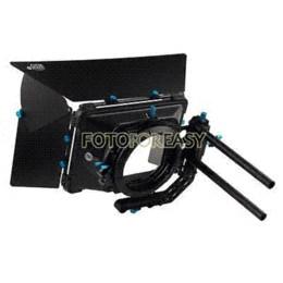 Wholesale Fotga 15mm Rod Support - FOTGA DP3000 Professional Swing-away Matte Box Sunshade for 15mm Rod DSLR Rig M3 sunshade umbrella sunshade tent