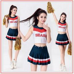 Wholesale School Uniform Costumes Cosplay - Wholesale-Sexy Baby Cheerleader Costumes Cosplay Halloween Costumes game uniforms school wear dress Exotic Appare