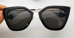 Wholesale Face Clear - Italian luxury brand designer sunglasses top quality material personality eyebrow frame with nasal care and face with a more harmonious 53s