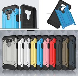 Wholesale Sgp Hard Hybrid - Hybrid Dual Layer Soft TPU Rubber Hard PC SGP ShockProof Tough Slim Armor Impact Back Case For LG G4 Stylus G Stylo LS770 K4 K5 K7 K8 K10