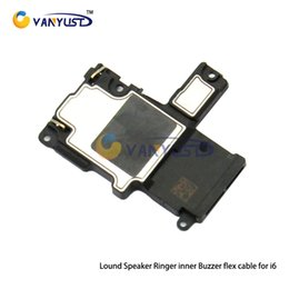 Wholesale Iphone 4s Ribbon Cable - High quality Loud Buzzer Ringer Built-in Speaker Flex Cable Ribbon For iPhone 4 4S 5 5C 5S 6 Plus 6S 6S Plus Replacement