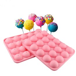 Wholesale Cake Muffin Chocolate Cupcake - Silicone Star Pop Cake Stick Chocolate Muffin CupCake cake Candy Ice Silicone Tray Mold Mould 20 Cavity per sheet