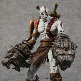 Wholesale God War Action Figures - NECA God of War 3 Ghost of Sparta Kratos PVC Action Figure Collectible Model Toy 22cm