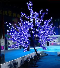 2019 fiore m 2017 LED Cherry Blossom Tree Light 864pcs Lampadine a LED 1,8 m Altezza 110 / 220VAC Sette colori per opzione Antipioggia Uso esterno Drop shipping sconti fiore m