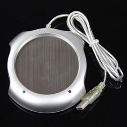 Wholesale Usb Warming Pad - 2015 Hot Fast USB Tea Coffee Warmer Heater Cup Mug Pad 4 Port USB Hub Office PC Laptop