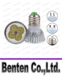 Wholesale 24v Mr16 Dimmable Led Lamp - Cheap High power CREE 12W 4x3W Dimmable GU10 MR16 E27 E14 GU5.3 B22 Led Light Lamp Spotlight led bulb Energy Saving LLFA218