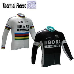 Wholesale Uci Cycling - WINTER FLEECE THERMAL 2017 BORA PRO TEAM UCI PETER SAGAN ONLY LONG SLEEVE CYCLING JERSEY SIZE:XS-6XL