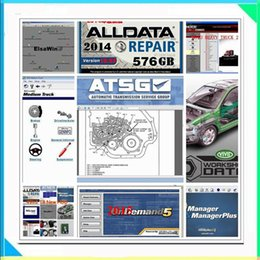 Wholesale Manual Mitchell - 2017 Alldata Auto software Alldata 10.53 and Mitchell software 2015 Car Repair Software with Manual all data 10.53 and1000GB hard disk