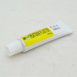 Wholesale Computer Ram Wholesale - Wholesale- 100pcsx5g Thermal Conductive Heatsink Plaster Viscous Adhesive Glue For Chip VGA RAM LED IC,cooler,radiator