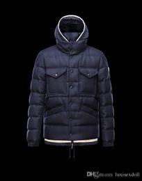 Wholesale Helly Hansen Men - Fall-High Quality Winter Jacket Coat Helly Hansen Men Duck Down Thick Windproof Warm Jacket Monler Jacket Men Chaquetas Casual Sports