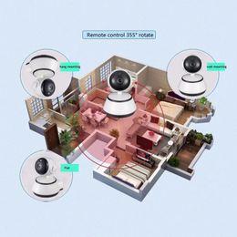 2019 cámara de seguridad con zoom wifi 2017 nueva Cámara IP de Seguridad para el Hogar Cámara WiFi Vigilancia de Video 720P Visión Nocturna Cámara de Detección de Movimiento P2P Monitor para Bebé Zoom rebajas cámara de seguridad con zoom wifi