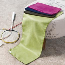 Sacchetto di trasporto del microfiber online-Asciugamano di sport di trasporto libero NUOVO con la borsa 74x29cm di dimensione media Microfiber toalha de esportes Asciugamano della palestra di viaggio di nuoto