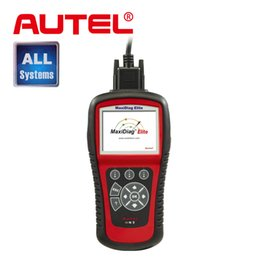 Wholesale Transmission Scan Tools - Wholesale-100% Original Autel MaxiDiag Elite MD802 Scan Tool For All System+DS model+Engine+Transmission+ABS Airbag+EPB+OIL Service Reset