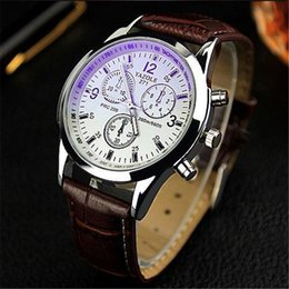 Wholesale Cheap Water Resistant Sport Watches - Wholesale-New listing Yazole Men watch Luxury Brand Watches Quartz Clock Fashion Leather belts Watch Cheap Sports wristwatch relogio male