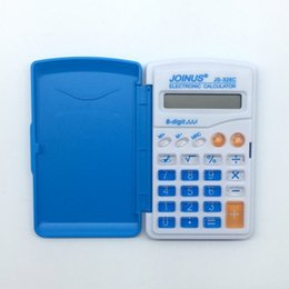 Wholesale Pocket Calculators - Hot Calculator Pupils pocket Calculator Mini Pocket Lap Portable Calculator Specials 2017 new fashion