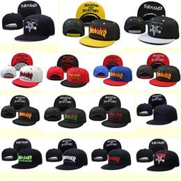 Wholesale Snapback Hat Yums - 2016 Newest Yums Snapback Hat Basketball Hats Adjustable Thrasher Hats Snapback Style Women Men Lovely Smile Snap Back HIP HOP Cap Black