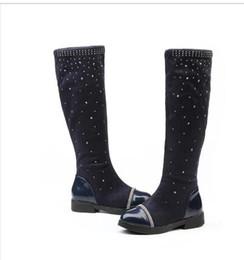 Wholesale warm waterproof winter sneakers - Diamond Children Winter Shoes New Children's Snow Boots Kids Warm Sneakers Girls Snow Boots Girls Winter Waterproof Botas