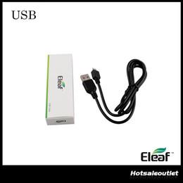 Canada Authentique chargeur de câble USB Eleaf iStick pour batterie iSmoka Eleaf iStick 20w 30w 50w mini 10w 100% d'origine Offre