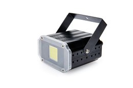 Wholesale Party Jumps - New arrival 20W Compact DJ Strobe Light White Color Powerful Disco Strobe Effects Lighting for Party Family Disco DJ