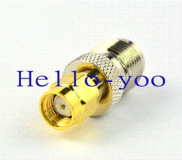 Wholesale Tnc Male Connectors - 5pcs lot TNC - SMA adapter RP TNC Female to RP SMA Male Straight Connector Free shipping