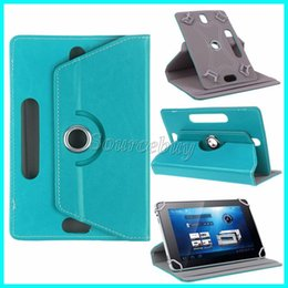 Wholesale Leather Case 9inch Tablet - New Fashion Tablet cases 360 Degree Rotating 7inch 9inch 10inch Multi-color PU Leather Case Flip Fold Cover Buckled Universal Tablet Case