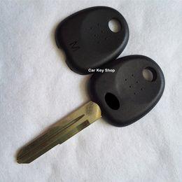 Chiave transponder hyundai vuoto online-Coperchi per coperchi chiave FOB di ricambio lama sinistra HYN14 per Hyundai Elantra Tucson Matrix Transponder Key Shell Case