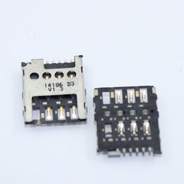 Wholesale Slot Module - Wholesale-2PC 100% Original SIM Card Slot Reader Holder Module for Nokia Lumia 530 630 N530 n630 Connector SIM Card Socket