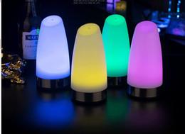 draußen mobile bars Rabatt Kreative LED Ladestation Schreibtischlampe Service Licht mobile Outdoor Schreibtischlampe Lade Schatz Coffee Shop Nachtlicht