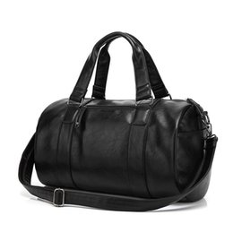 Wholesale Design Shoulder Pu - New arrival fashion design high quality men duffel bags outdoor sports gym bag shoulder cross body travel handbag