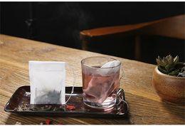 Wholesale Empty Drawstring Tea Bags - Disposable tea infuser empty teabags food grade material made filter single drawstring tea bags
