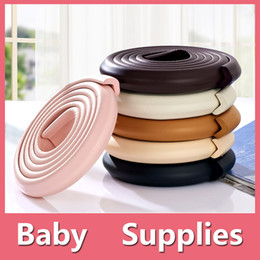 Wholesale Corner Safety - Colorful BD Kids Baby Safety Rubber Foam Bumper Strip Safety Table Edge Corner Protect Length 2M