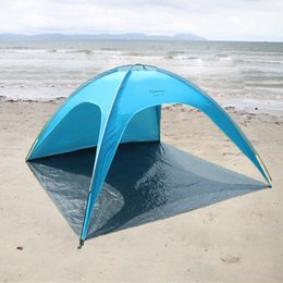 Wholesale Doors Canopy - 3-4 Sun Beach Tents Sun Shelter Outdoor Portable Camping Tent Summer Garden Awning Fishing Shade Canopy Tent Strandtent