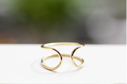 u rings Promo Codes - The new jewelry wholesale gold-plated silver plating rose high product quality U ring ring fashion trends in selling