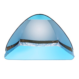 Wholesale Waterproof Pop Up Tents - Wholesale- Netanmake Brand Automatic Tents Opening Beach Tent Sun Shelter UV-protective Tent Shade Waterproof Pop Up Open Tent for outdoor