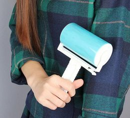 Wholesale Curtains Furniture - Super Sticky Washable Dust Lint Roller With Cover for Fluff Pet Hair Dust Remover Lint Sticking Dusting Roller