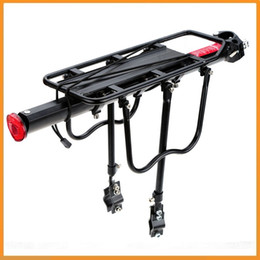 Wholesale Mountain Racks - Wholesale-Top Quality Bicycle Racks Aluminum Alloy Bicycle Luggage Carrier MTB Bicycle Mountain Bike Road Bike Rear Rack Install Component