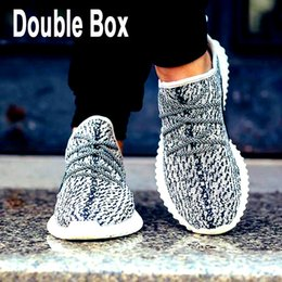 Wholesale Winter Footwear For Men - Send Double Box Boost 350 Shoes footwear Top Quality, new arrival top Kanye West Shoes for mens & womens,more 350 Boost for Sports+Outdoor
