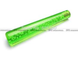 Wholesale Dildo 25cm - 25cm Green Bubble Dildo Shift Gear Knob With Light UNIVERSAL FOR JAPAN VEHICLE JDM STYLE Gear Shift Knob