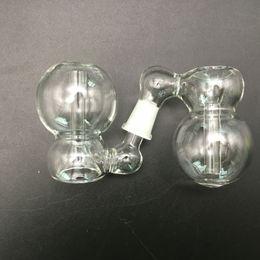 18,8 мм мужская чаша Скидка Золоуловители 18.8 мм Galss для бонги трубы стекло Торнадо перк стекло на стекло Золоуловитель 10 14 18 мм мужской чаша барботер Ashcatcher