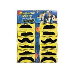 Trajes de barbas on-line-12 pcs Engraçado Partido Do Traje À Moda Barata Falsa Bigode Bigode Bigode Bigode Bigode Bigode Halloween Bigode