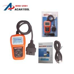 Wholesale Online Automotive Tools - Universal Spuer Mini U581 OBD2 Code Reader Automotive Obd 2 Scan Tool MINI U581 Can Bus Professional Auto Scanner Update Online