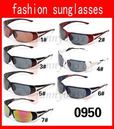 Wholesale Titanium Sports Price - MOQ=10PCS cheap price summer man Bicycle Glass Mens outdoor sport Sunglasses woman driving sunglasses wind glasses 18colors free shipping