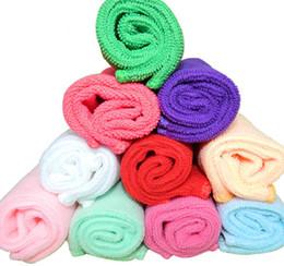 Wholesale Children Hair Wash - Colorful 30*30cm car wash towels microfiber towel superfine fiber towel multifunctional kitchen cleaning water absorbent towel