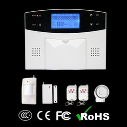 Wholesale Alarm Control Panels Wireless - cheap wireless 99 zones intrusion remote control panel wireless gsm alarm system china with pir sensor